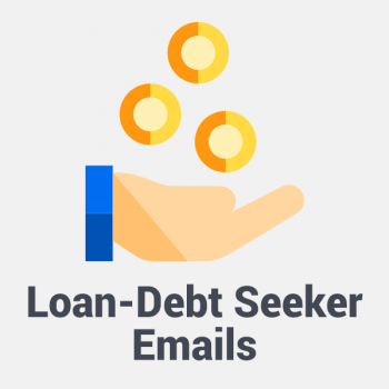 loan and debt seeker emails