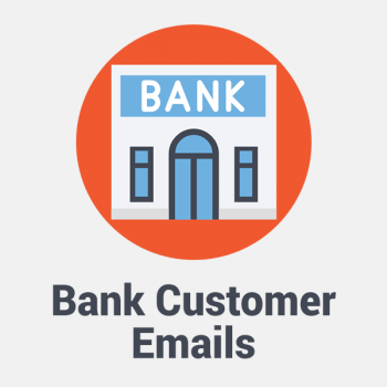 bank customer email list