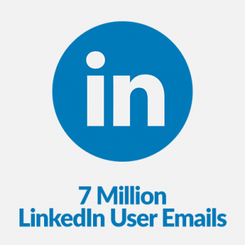 linkedin user emails list database