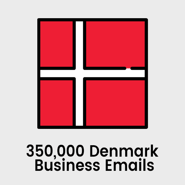 350000 Denmark Business Emails