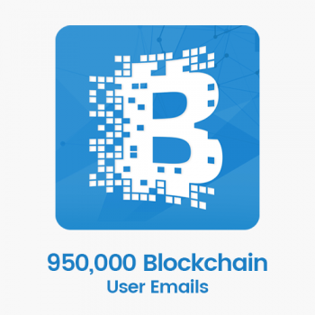 950,000 Blockchain User Emails