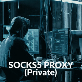 SOCKS Proxy (Private Socks5)