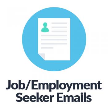 Job Employment Seeker Email Lists