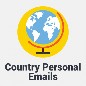 country personal email list