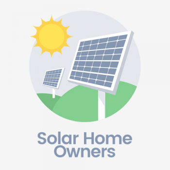 solar home owners email list
