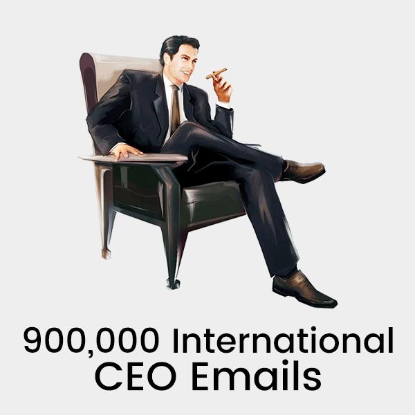 900,000 International CEO-CFO Emails