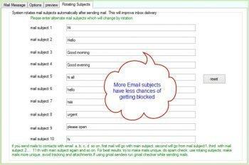 ab bulk mailer software