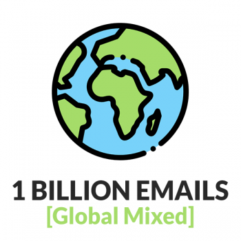 1 BILLION Global Emails (Mixed Countries)