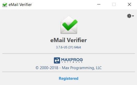 Maxprog Bulk Email Verifier V3.7.6