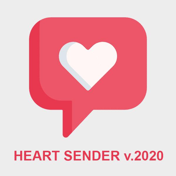 Heart Sender v.2020 (Lifetime Licence)