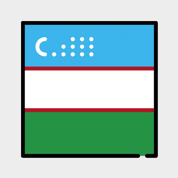1,577,564 Uzbekistan Emails (.UZ)